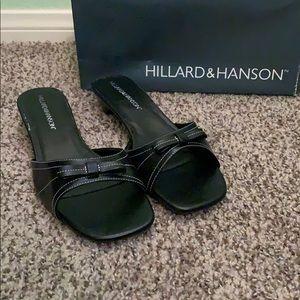 🆕 Hilliard & Hansen Short Black Heels 🖤